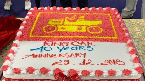 kỉ niệm 40 năm tập đoàn King Car