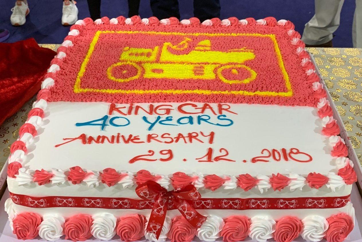 Kỷ niệm 40 năm thành lập Tập đoàn King Car